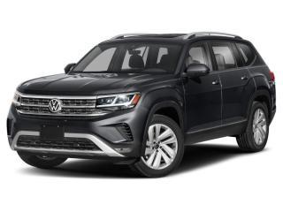 New 2021 Volkswagen Atlas 3.6 FSI Execline *R LINE* *DIGITAL DASH* *LEATHER* *SUNROOF* *BLIND SPOT INDICATORS* *DRIVER ASSIST* for sale in Surrey, BC