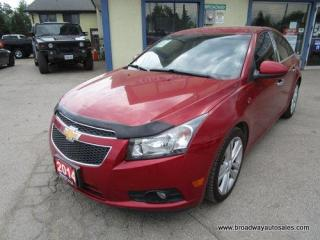 Used 2014 Chevrolet Cruze WELL EQUIPPED 1-LT EDITION 5 PASSENGER 1.4L - TURBO.. CD/AUX/USB INPUT.. KEYLESS ENTRY.. AIR CONDITIONING.. for sale in Bradford, ON