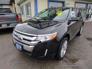 Used 2014 Ford Edge ALL-WHEEL DRIVE SEL EDITION 5 PASSENGER 3.5L - V6.. NAVIGATION.. LEATHER.. HEATED SEATS.. PANORAMIC SUNROOF.. BACK-UP CAMERA.. BLUETOOTH.. for sale in Bradford, ON