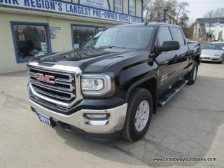Used 2017 GMC Sierra 1500 POWER EQUIPPED SLE-KODIAK EDITION 6 PASSENGER 5.3L - VORTEC.. 4X4.. CREW-CAB.. SHORTY.. TRAILER BRAKE.. BACK-UP CAMERA.. BLUETOOTH SYSTEM.. for sale in Bradford, ON