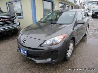 Used 2013 Mazda MAZDA3 WELL EQUIPPED TOURING-EDITION 5 PASSENGER 2.0L - DOHC ENGINE.. HEATED SEATS.. CD/AUX INPUT.. KEYLESS ENTRY.. for sale in Bradford, ON