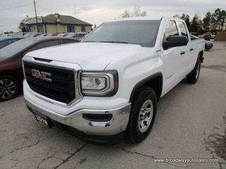 Used 2018 GMC Sierra 1500 WORK READY SL EDITION 6 PASSENGER 5.3L - VORTEC.. 4X4 SYSTEM.. QUAD-CAB.. SHORTY.. TOW SUPPORT.. AUX/USB INPUT.. BLUETOOTH.. BACK-UP CAMERA.. for sale in Bradford, ON
