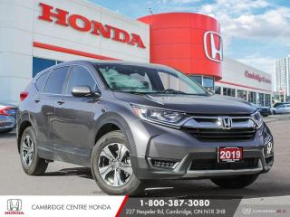 Used 2019 Honda CR-V LX PUSH BUTTON START | APPLE CARPLAY™ & ANDROID AUTO™ | HEATED SEATS for sale in Cambridge, ON