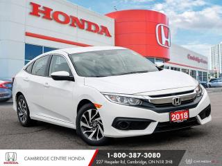 Used 2018 Honda Civic REMOTE STARTER | APPLE CARPLAY™ & ANDROID AUTO™ | HEATED SEATS for sale in Cambridge, ON