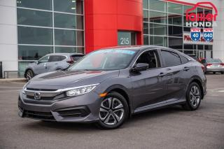 Used 2016 Honda Civic GARANTIE 10ANS/200,000 KILOMETRES LALLIER* LE PLUS GRAND CHOIX DE CIVIC USAGEES  AU QUEBEC for sale in Terrebonne, QC