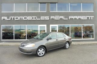 Used 2005 Toyota Corolla AUTOMATIQUE -AC - 93 907 KM - for sale in Québec, QC