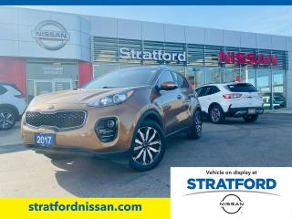 Used 2017 Kia Sportage EX AWD|LOCAL TRADE|CLEAN CARFAX REPORT for sale in Stratford, ON