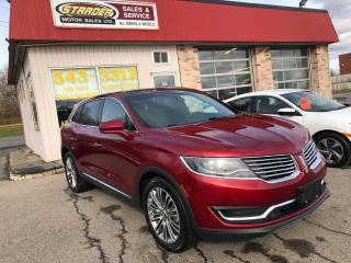 Used 2018 Lincoln MKX Reserve for sale in Morrisburg, ON