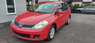 Used 2007 Nissan Versa SL automatique hayon gr élec for sale in St-Charles-Borromée, QC