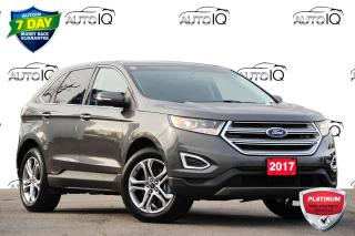 Used 2017 Ford Edge Titanium TITANIUM | AWD | 3.5L V6 | PANORAMIC ROOF for sale in Kitchener, ON