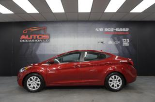 Used 2015 Hyundai Elantra GL MANUEL + A/C + SIÈGES + BLUETOOTH 104 468 KM !! for sale in Lévis, QC