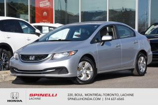 Used 2015 Honda Civic LX MANUELLE BAS KM LIQUIDATION MANUELLE AC BLUTOOTH CAM RECUL++ for sale in Lachine, QC