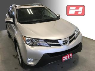 Used 2015 Toyota RAV4 Limited Low KMS | Sunroof | Navigation | Leather Seats for sale in Stratford, ON