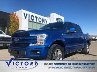 Used 2018 Ford F-150 LARIAT| NAV| ROOF| HEATED/COOLED SEATS| for sale in Chatham, ON