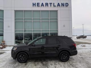 Used 2019 Ford Explorer Sport CERTIFIED PRE OWNED | NAVIGATION | LEATHER | SUNROOF | BACK UP CAMERA-USED FORD DEALER for sale in Fort Saskatchewan, AB