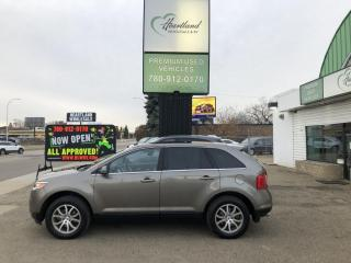 Used 2012 Ford Edge Limited AWD | LEATHER | SUNROOF | BACK UP CAMERA-USED FORD DEALER for sale in Edmonton, AB