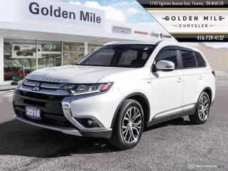 Used 2016 Mitsubishi Outlander GT One owner, No accidents, Leather, Sunroof for sale in North York, ON