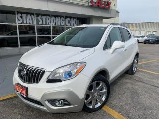 Used 2014 Buick Encore #Leather #FWD #One Owner #roof #Backup cam for sale in Chatham, ON