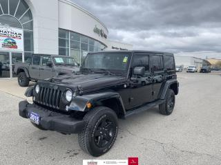 Used 2015 Jeep Wrangler Unlimited Nav/Heated Seats/Dual Top Group for sale in Chatham, ON