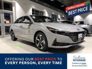 New 2021 Hyundai Elantra Ultimate for sale in Sudbury, ON