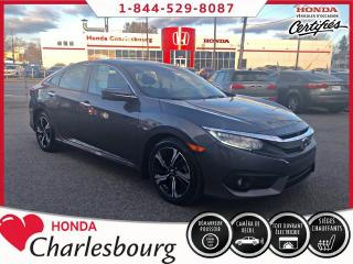 Used 2016 Honda Civic TOURING **33 828 KM** for sale in Charlesbourg, QC