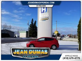 Used 2012 Hyundai Accent MODÈLE L AUTOM HATCHBACK for sale in St-Félicien, QC