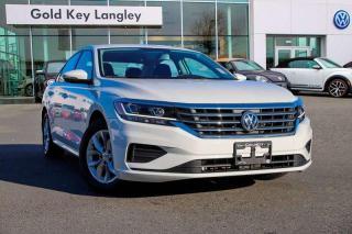 Used 2020 Volkswagen Passat Comfortline 2.0T 6sp at w/Tip for sale in Surrey, BC
