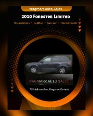 Used 2010 Subaru Forester X Limited for sale in Kingston, ON