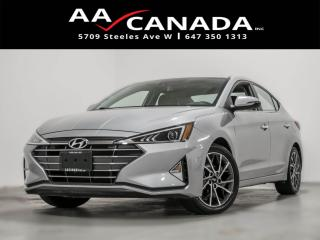 Used 2020 Hyundai Elantra Luxury for sale in North York, ON