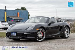 Used 2013 Porsche Boxster S Low kms Ontario vehicle Clean Carfax  for sale in Bolton, ON