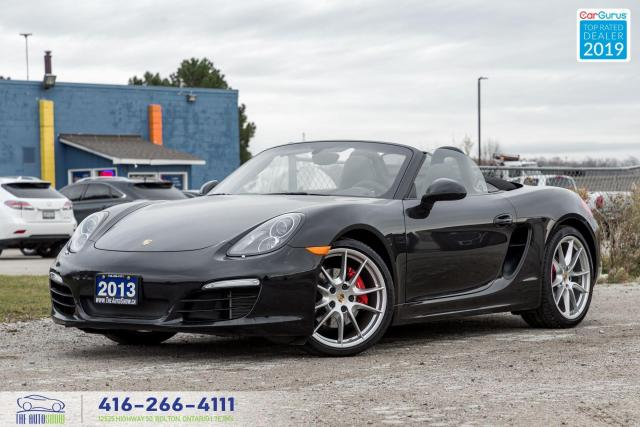 2013 Porsche Boxster S|Low kms|Ontario vehicle|Clean Carfax|