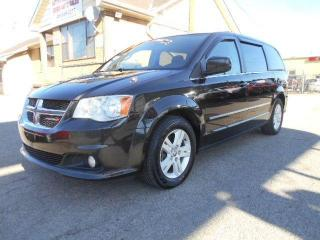 Used 2012 Dodge Grand Caravan Crew 3.6L StowNGo Loaded Certified 169,000Km for sale in Rexdale, ON