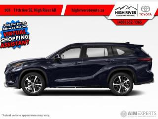 New 2021 Toyota Highlander XSE for sale in High River, AB