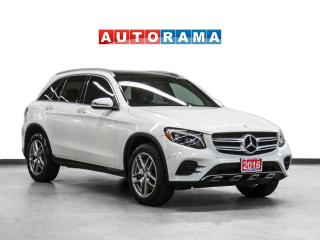 Used 2016 Mercedes-Benz GLC 300 4Matic Nav Leather PanoRoof Backup Cam for sale in Toronto, ON