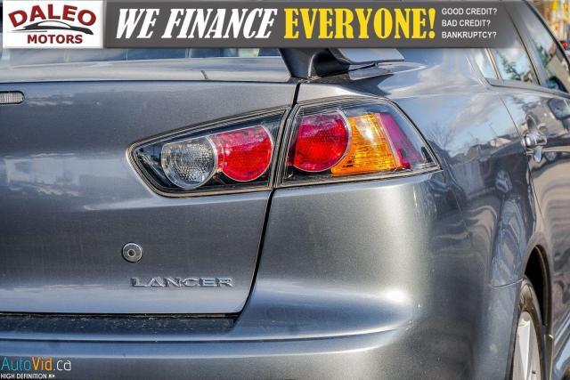 2013 Mitsubishi Lancer SE / LEATHER / KEYLESS GO / MOONROOF / HEATED SEAT Photo10