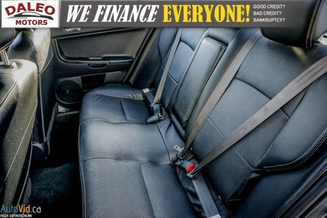 2013 Mitsubishi Lancer SE / LEATHER / KEYLESS GO / MOONROOF / HEATED SEAT Photo12