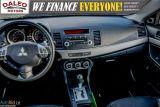 2013 Mitsubishi Lancer SE / LEATHER / KEYLESS GO / MOONROOF / HEATED SEAT Photo41