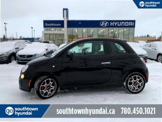 Used 2015 Fiat 500 SPORT/BLUETOOTH/POWER OPTIONS/CRUISE CONTROL for sale in Edmonton, AB