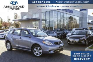 Used 2008 Toyota Matrix XR for sale in Abbotsford, BC