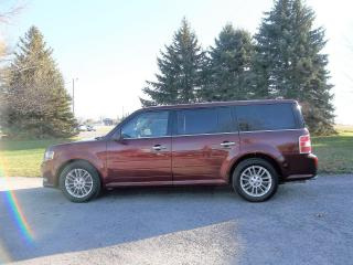 Used 2015 Ford Flex SEL 4WD- 7 PASSENGER for sale in Thornton, ON