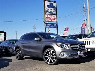 Used 2018 Mercedes-Benz GLA No Accidents|AWD|Panoroof|Hetd seat|NAV |Certified for sale in Brampton, ON