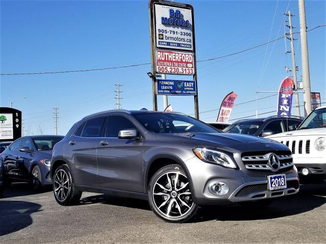 2018 Mercedes-Benz GLA No Accidents|AWD|Panoroof|Hetd seat|NAV |Certified