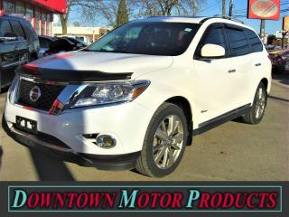 Used 2014 Nissan Pathfinder Platinum Premium Hybrid for sale in London, ON