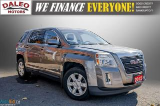 Used 2012 GMC Terrain SLE-1 / ONE OWNER / BUCKET SEATS for sale in Hamilton, ON