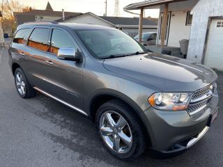 Used 2011 Dodge Durango Citadel ** AWD, NAV , BACK CAM, AUTOSTART  ** for sale in St Catharines, ON