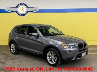 Used 2013 BMW X3 28i AWD, Pano Roof, 2 Years Warranty for sale in Vaughan, ON