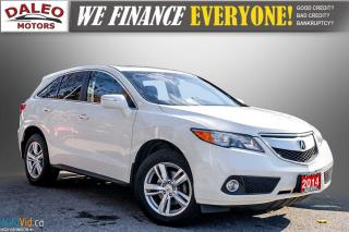 Used 2014 Acura RDX TECH PKG / LEATHER / NAVI / SUNROOF / HEATED SEATS for sale in Hamilton, ON