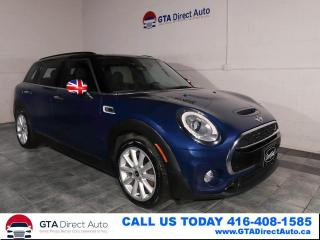 Used 2016 MINI Cooper Clubman Clubman S Nav Pano Xenon PDC KeyGo Auto Certified for sale in Toronto, ON