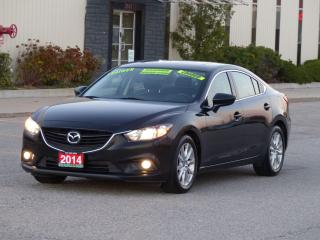 Used 2014 Mazda MAZDA6 GS-SKYACTIV,LEATHER,NAVIGATION,REAR-CAM,CERTIFIED for sale in Mississauga, ON