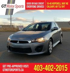 Used 2016 Mitsubishi Lancer ES | $0 DOWN - EVERYONE APPROVED! for sale in Calgary, AB